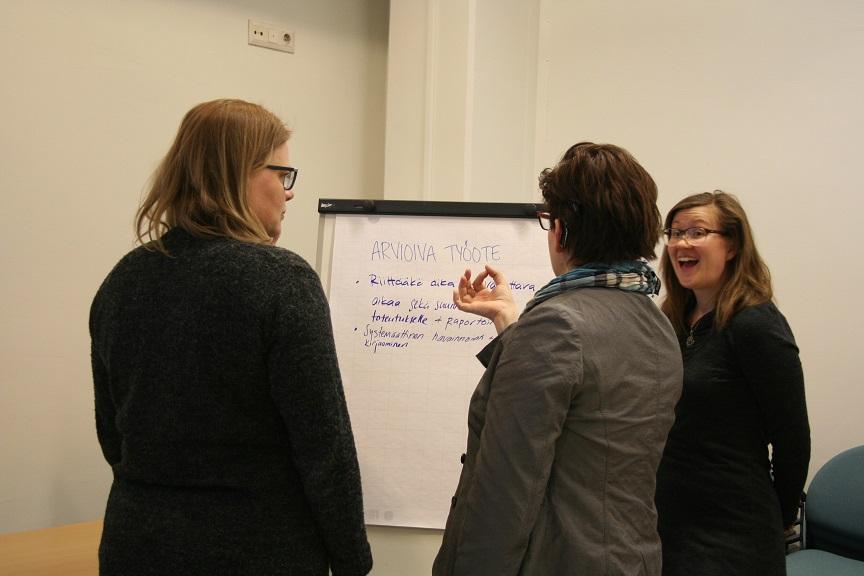 ARTSIssa mukana olleet järjestöt kokoontuivat keväällä jakamaan arviointikokemuksiaan, syyskuussa kehittämistyön aloittavat uudet järjestöt.