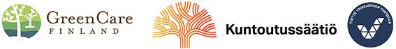 Logot Green Care Finland Kuntoutussäätiö Veikkaus